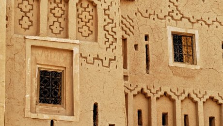 Morocco-pottery-holiday-Berber-kasbah-motifs