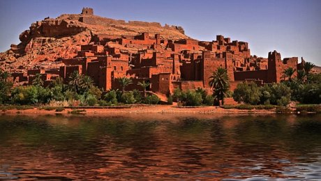 Morocco-adventure-holidays-ait behaddou-kasbah-river