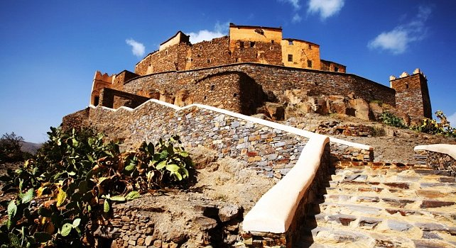 Atlas Mountains Morocco tours - Anti-Atlas Kasbah Tizourgane