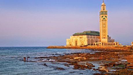Morocco-Atlantic-Coast-tours-Casablanca-Hassan II Mosque
