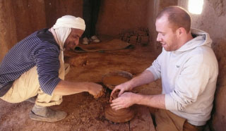 Berber pottery making tour