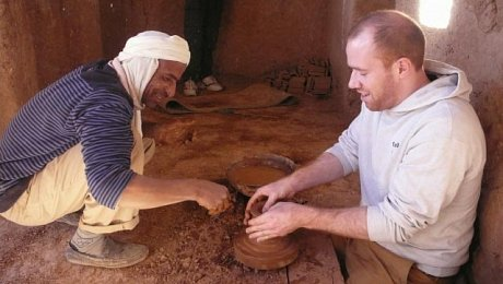 Morocco-pottery-making-holiday-Tamegroute