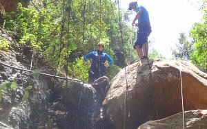 Canyoning in the Ourika Valley