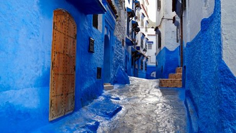 Northern-Morocco-tours-Chefchaouen medina