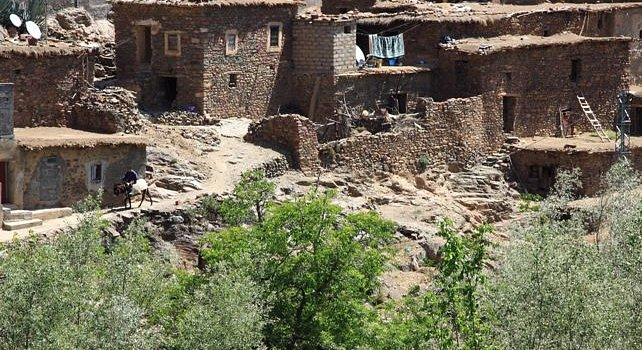 High Atlas Mountains - Berber village Morocco tours