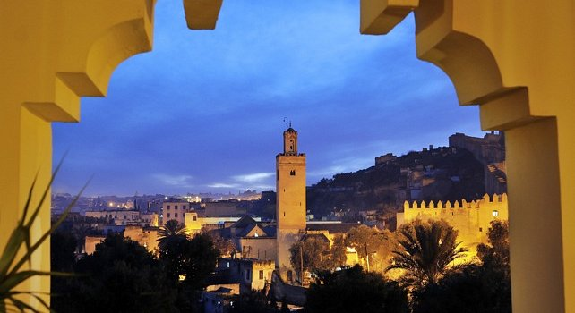 Imperial Cities Tour Morocco - Fes by night