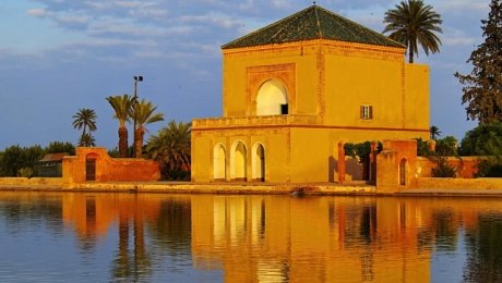 Imperial-Cities-Morocco-tour-Marrakech-Menara Pavilion