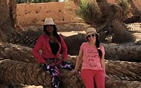 Morocco Desert Holiday clients - Kelsey & Grace