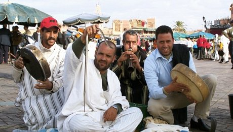 Imperial Cities Morocco Marrakech tours-snake-charmers