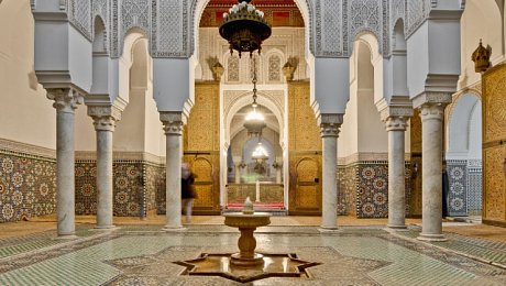 Imperial-Cities-Morocco-tours-Meknes-Mausoleum Moulay Ismail