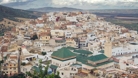 Imperial-Cities-Morocco-tours-Moulay Idriss