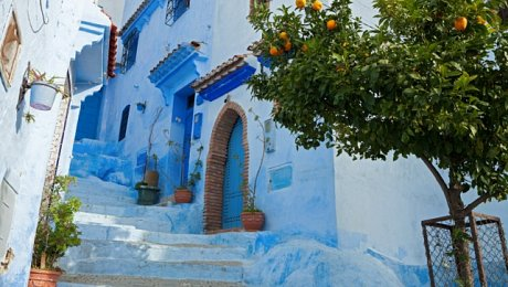 Imperial Cities-and North-Morocco-Chefchaouen-medina