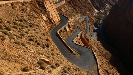 Morocco-adventure holidays-Dadès Gorge