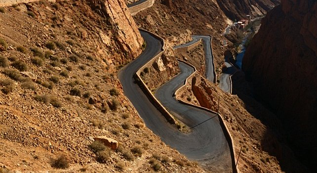 Southern Valleys Morocco tours - Dades Gorge