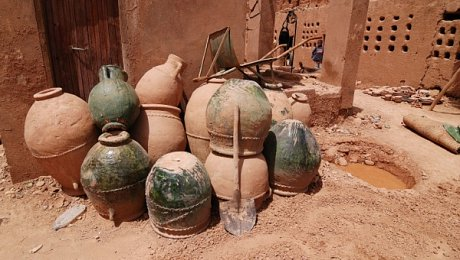 Morocco-pottery-arts-holiday-Tamegroute