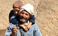 Berber Nomads in High Atlas Morocco