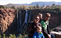 Morocco Family Holiday - Cascades Ouzoud