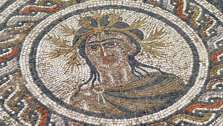 Northern-Morocco-tours-Volubilis mosaic